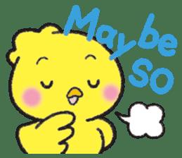 Backchannel chick sticker #1486009