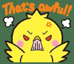 Backchannel chick sticker #1486014