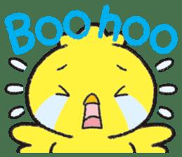 Backchannel chick sticker #1486017