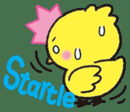 Backchannel chick sticker #1486023