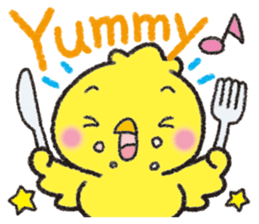 Backchannel chick sticker #1486026