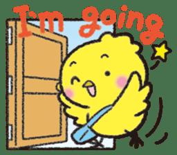 Backchannel chick sticker #1486028