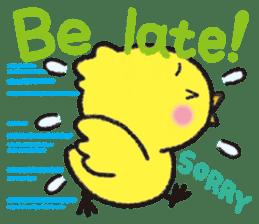 Backchannel chick sticker #1486030