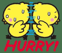 Backchannel chick sticker #1486034