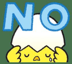 Backchannel chick sticker #1486037