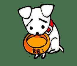A sad dog sticker #1486291