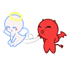 Little Devil & Angel