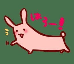 Long-bodied animals sticker #1488800