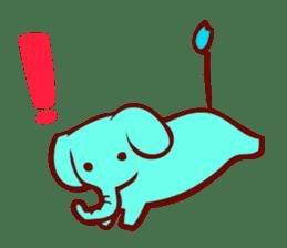 Long-bodied animals sticker #1488811