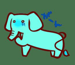 Long-bodied animals sticker #1488818