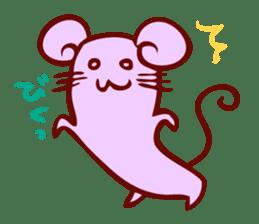 Long-bodied animals sticker #1488819