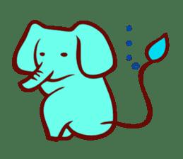 Long-bodied animals sticker #1488830