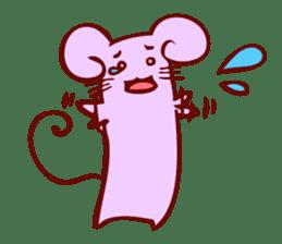 Long-bodied animals sticker #1488831