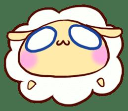 Pretty sheep sticker #1491560