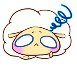 Pretty sheep sticker #1491574