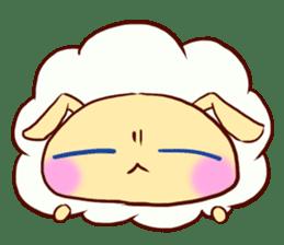 Pretty sheep sticker #1491575