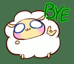 Pretty sheep sticker #1491578