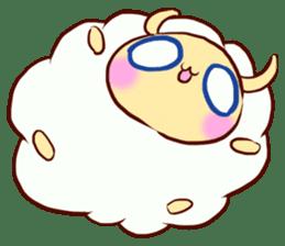 Pretty sheep sticker #1491589