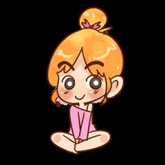 Sassy Pink Girl