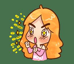 Sassy Pink Girl sticker #1492282