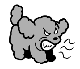 Nature of Toy Poodle sticker #1492761