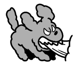 Nature of Toy Poodle sticker #1492763