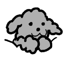 Nature of Toy Poodle sticker #1492764