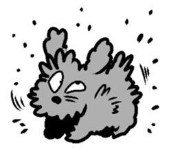 Nature of Toy Poodle sticker #1492773