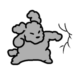 Nature of Toy Poodle sticker #1492776