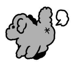 Nature of Toy Poodle sticker #1492778