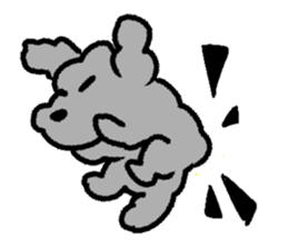 Nature of Toy Poodle sticker #1492780