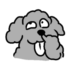 Nature of Toy Poodle sticker #1492782