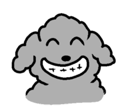 Nature of Toy Poodle sticker #1492786