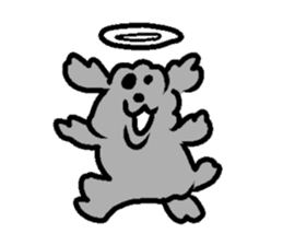 Nature of Toy Poodle sticker #1492794