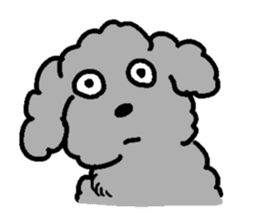 Nature of Toy Poodle sticker #1492797