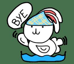 Dot Eyes Bunny sticker #1495013