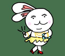 Dot Eyes Bunny sticker #1495021