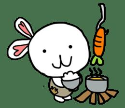 Dot Eyes Bunny sticker #1495022