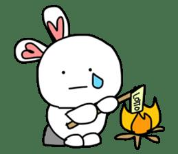 Dot Eyes Bunny sticker #1495024