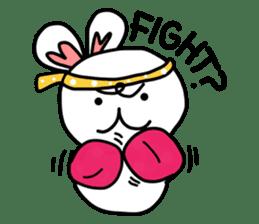 Dot Eyes Bunny sticker #1495031