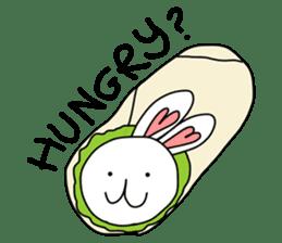 Dot Eyes Bunny sticker #1495034