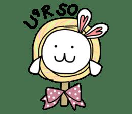 Dot Eyes Bunny sticker #1495035
