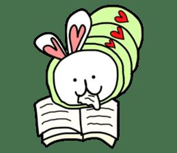 Dot Eyes Bunny sticker #1495037