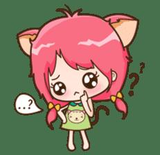 Kawaii Neko sticker #1495121