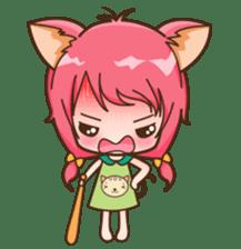 Kawaii Neko sticker #1495126