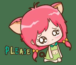 Kawaii Neko sticker #1495130