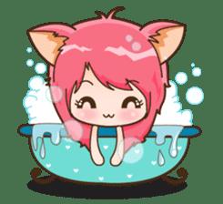 Kawaii Neko sticker #1495142