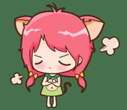 Kawaii Neko sticker #1495146