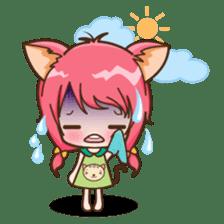 Kawaii Neko sticker #1495147