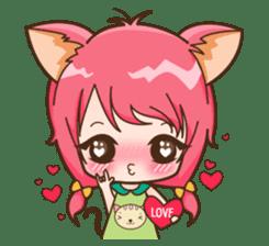 Kawaii Neko sticker #1495151